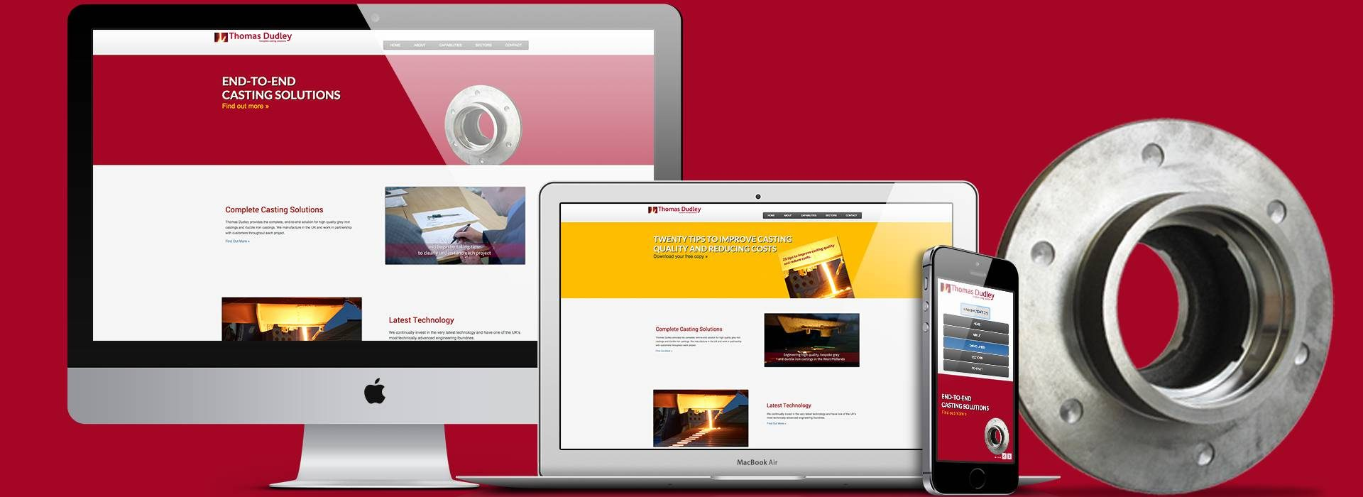 New website from Lesniak Swann increases traffic to Thomas Dudley Casting website by 80%