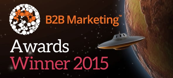 B2B Marketing Awards Winner 2015 Logo