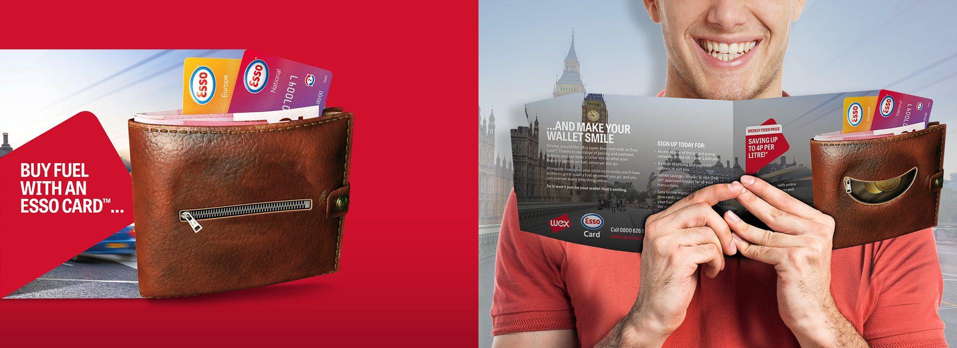 e47bdf7aad Pan European B2B marketing campaign for Esso Fuel Card