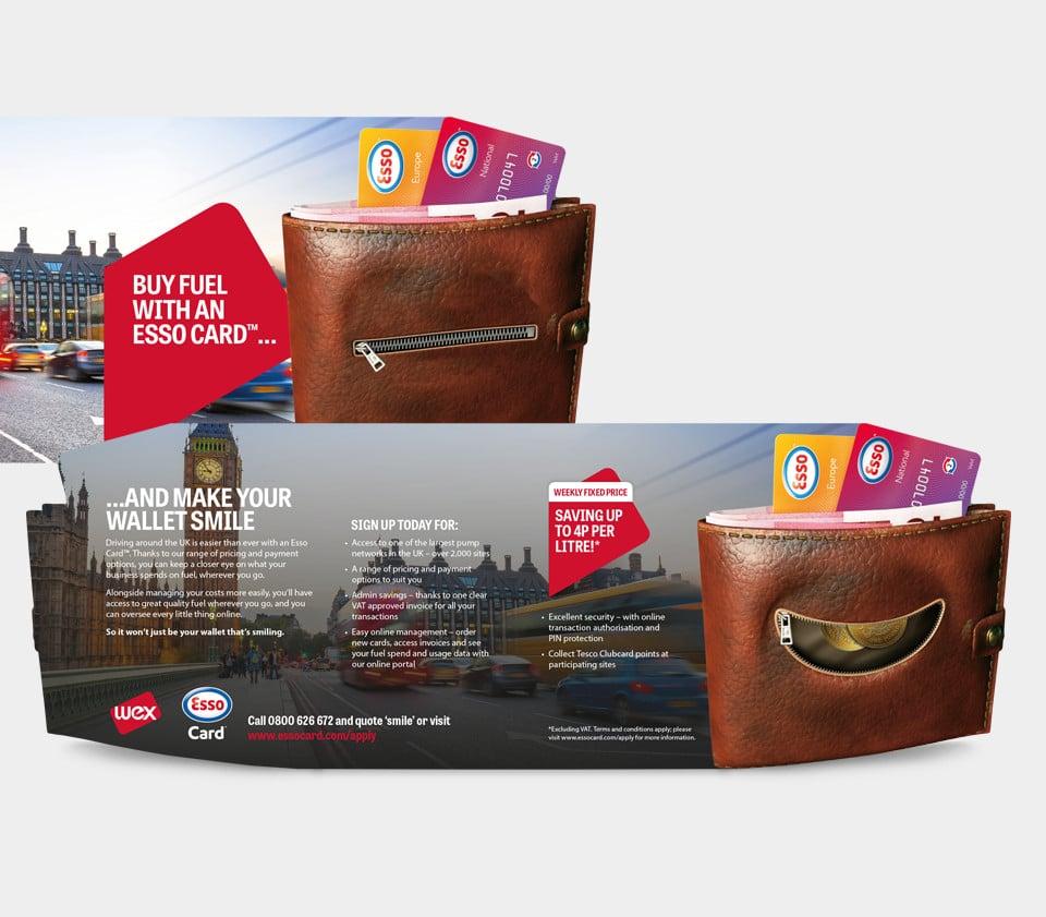 WES Pan European campaign Esso Fuel Card