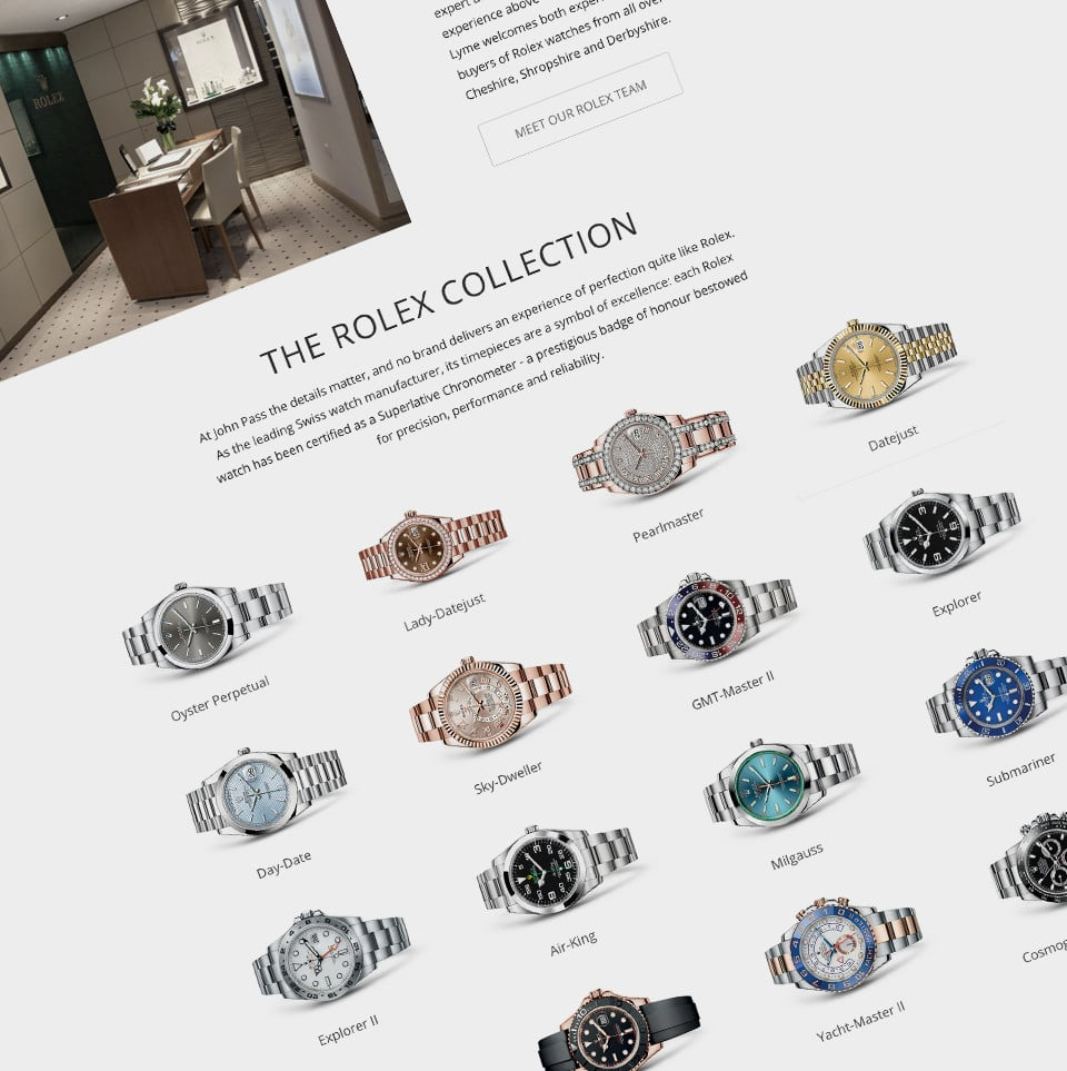 Lesniak swann help deliver the rolex experience the rolex section of the john pass website now introduces the team their extensive experience and the high levels of product knowledge that wait for a biocorpaavc Choice Image