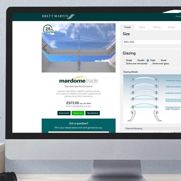 Mardome Product Configurator